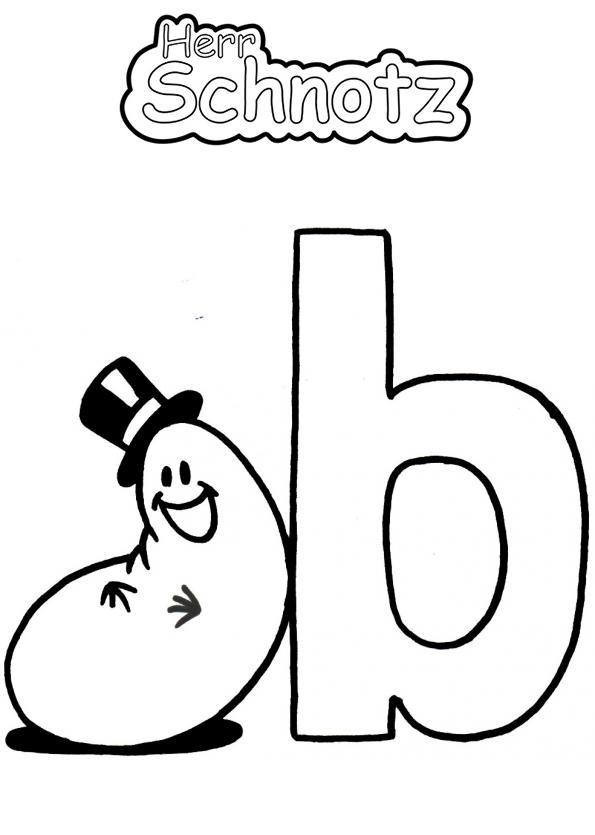Alphabet - B