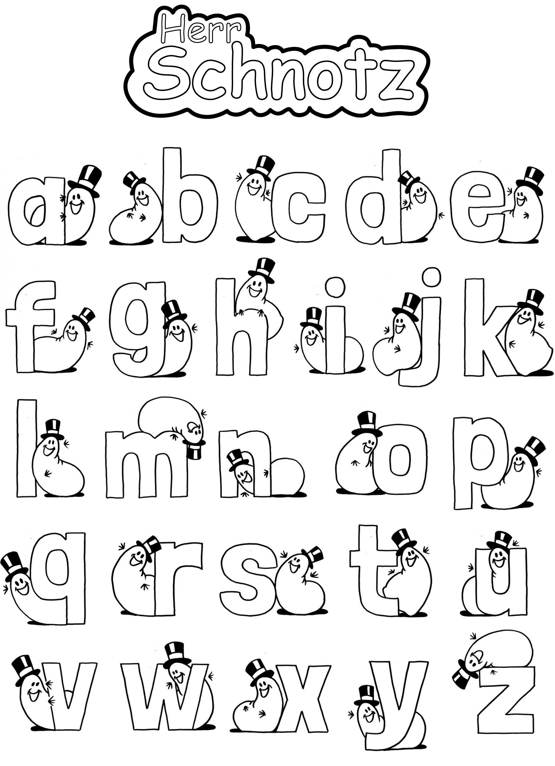 Alphabet - Herr Schnotz