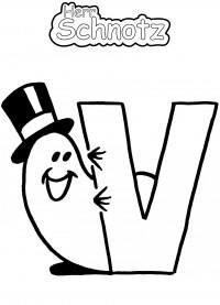 Alphabet - V