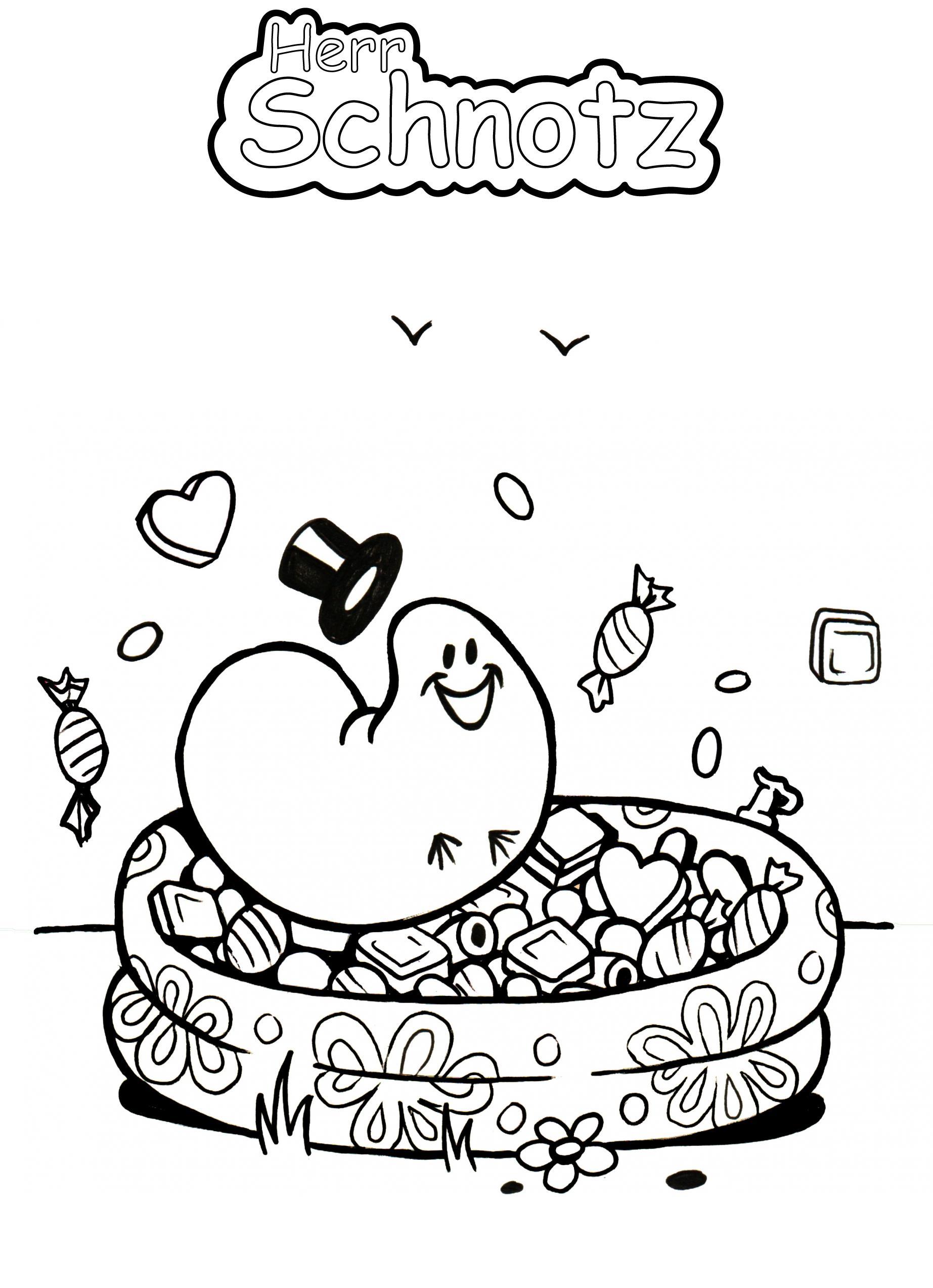 Süßigkeiten Schwimmbad
